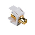HellermannTyton   RCAFINSERTY-W   RCA F CONNECTOR YELLOW, WHITE     Lectro Components