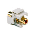 HellermannTyton   RCAINSERTR-FW   RCA COUPLER W/RED     Lectro Components