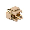 HellermannTyton | RCAINSERTW-I | RCA CPLR W/WHITE STRIPE - IVRY |  Lectro Components