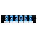HellermannTyton | FAP6SSMSC | ADAPTER PANEL-6 SIMPLEX SC SM  |  Lectro Components