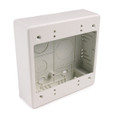 HellermannTyton | TSRPFW-JBD | DUAL GANG-JUNCTION BOX   |  Lectro Components