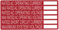 HellermannTyton   596-00240   AC RATING LABEL 50/RL    Lectro Components