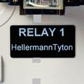 HellermannTyton   596-00507   2 X 1  BK  500/RL     Lectro Components