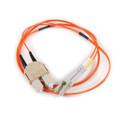 HellermannTyton | FA1LCSC50 | LC-SC DUPLEX 1M FIBR 50 MICRON |  Lectro Components