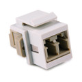 HellermannTyton | LCMMINSERT-W | LC MM FIBER INSERT - WHITE  |  Lectro Components