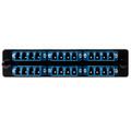 HellermannTyton | VFAP6QSMLCZ | FT ADAPTER PNL 24 LC SM BLUE   |  Lectro Components