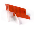 "HellermannTyton | CT0753X2 | GENERIC TAG .75"" X 3"" ORANGE   