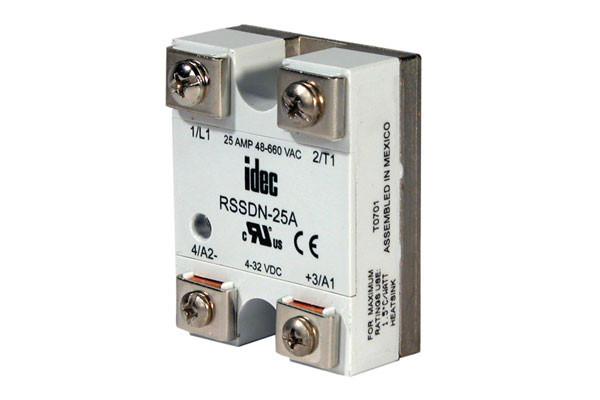 IDEC   RSSDN-75A   Relay   Lectro Components Idec Rr Pa Relays Wiring Circuit on