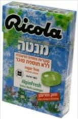 Ricola Sugar Free Alpinfresh Flavored Candy Box 20 Pack