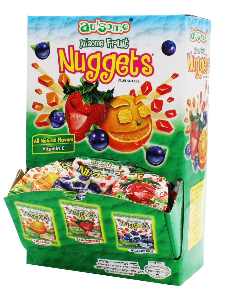 Florida Natural Fruit Juice Kosher Nuggets Mini Bags
