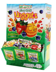 Au'some Fruit Juice Kosher Nuggets Mini Bags Display (48 Ct.)