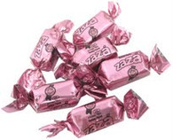 Zaza Foil Pink Foiled Tutti Frutti Flavored Chewy Kosher Taffy