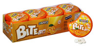 Zazers On the Go BiteGo Kosher Sugar & Gluten Free Orange Flavor Candies (Pack of 12)
