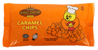 King David Vegan Caramel Chips Non-dairy Lactose Free Kosher 250-gram