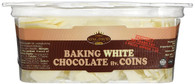 King David Kosher Easy Melt White Baking Chocolate Coins 12.34-ounce Jars (Pa...