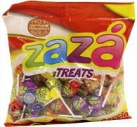 Zaza Assorted Fruit Flavored Lollipops
