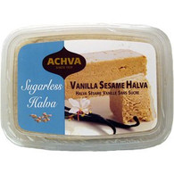 Achva Vanilla Sugar Free Sesame Halva