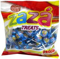 Space Fizz Blue Flavored Lollipops