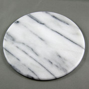 Solid Marble Tile - White