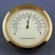 50mm Thermometer White Dial
