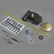 Takane Chiming Pendulum Clock Movement ( Complete Kit )