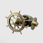 Brass Nutcracker Shipswheel
