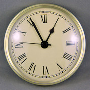 Insert clocks to match weather instruments - Ivory Roman