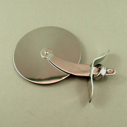 Small - Stainless Steel Pizza Cutter