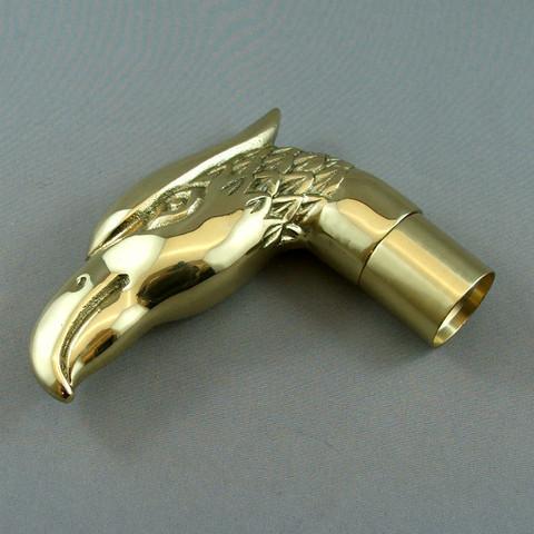 Brass Walking Stick Head - Eagle