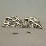 Pewter Small Dolphin Key Hanger