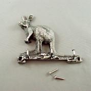 Pewter Kangaroo Key Hanger