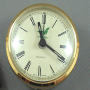 65mm- Hermle- German made, Ivory Roman insert clock