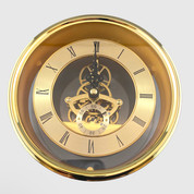 150mm Gold Skeleton Clock