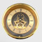 150mm Gold Skeleton Clock