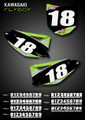 Flyboy Number Plates Kawasaki