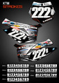 Strokes Number Plates KTM