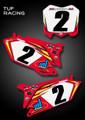Tuf Racing Team Pre-Printed Plates