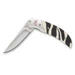 Browning 322776 Prism II Zebra Safari Knife