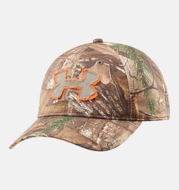 Under Armour 1221094-947 Camo Alpine Adjustable Cap Men's Hunting Headwear
