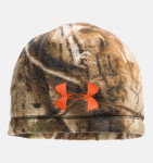 Under Armour 1241970 Outdoor Camo Fleece Beanie Men's Hunting Headwear