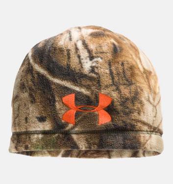 Under Armour 1241970 Outdoor Camo Fleece Beanie Men's Hunting Headwear