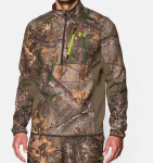 Under Armour 1/4 Zip Men's Hunting Long Sleeve