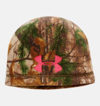 Under Armour 1247308-946 ColdGear® Infrared Scent Control Camo Beanie Women's Hunting Headwear
