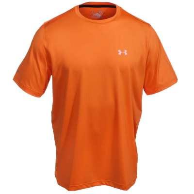 927af0de Under Armour Men's Orange Performance Crew Iso-Chill ...