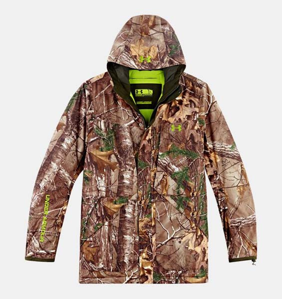 309b537f0cbac Under Armour Scent Control ColdGear® Infrared Gunpowder Men's Hunting  Outerwear. Loading zoom
