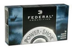 Federal Power Shok Ammo 22-250 Rem 55 gr SP, 20 Rounds/Box - 22250A