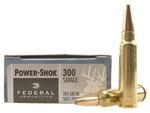 Federal Power-Shok Ammunition 300 Savage 180 Grain Soft Point Box of 20 - 300B