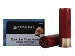 "Federal Strut-Shok Turkey Ammunition 12 Gauge 3"" 1-7/8 oz Buffered #4 Shot Box of 10 - FT158F 4"