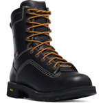"Danner Quarry USA 8"" Black Work Boot"