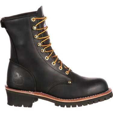 Georgia Logger Steel Toe Work Boot